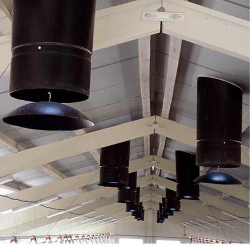 Instalación de chimeneas automáticas