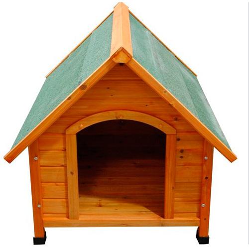 Caseta de madera para perros peque a for Caseta perro pequeno