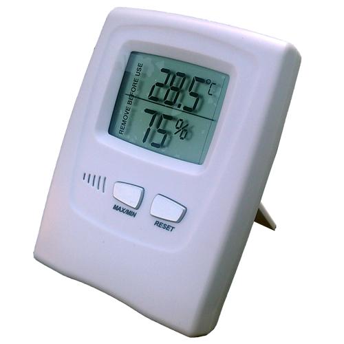 Termometro higrometro digital for Medidor de temperatura y humedad digital