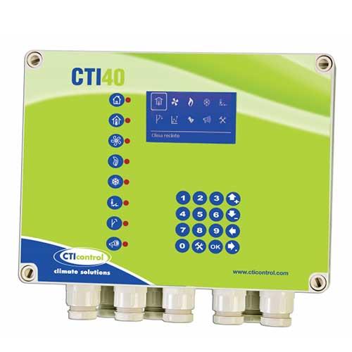 CONTROLADOR CLIMA CTI40