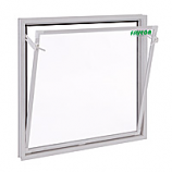 VENTANA ABATIBLE PVC CRISTAL SIMPLE