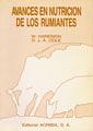 AVANCES EN NUTRICIÓN DE LOS RUMIANTES