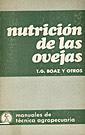 NUTRICIÓN DE LAS OVEJAS
