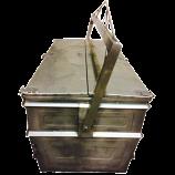 CONTENEDOR CADAVERES 1500 L. INOX